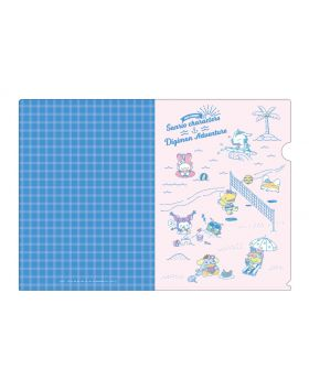 Digimon Adventure x Sanrio Characters ENJOY SUMMER! Goods Clear File