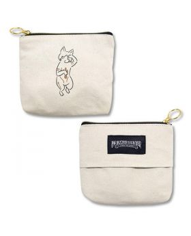 Monster Hunter World: Iceborne CAPCOM Tokyo Store Hunter's Camp Small Pouch Airou