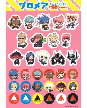 PROMARE Aniplex+ Bonus Items Chibi Characters Sticker Sheet