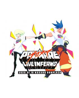 PROMARE LIVE INFERNO Bonus Items Large Postcard
