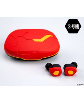 Neon Genesis Evangelion 2020 x final Wireless Earphone Unit 02 Design
