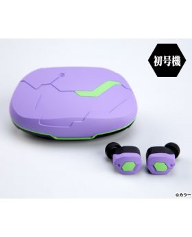Neon Genesis Evangelion 2020 x final Wireless Earphone Unit 01 Design
