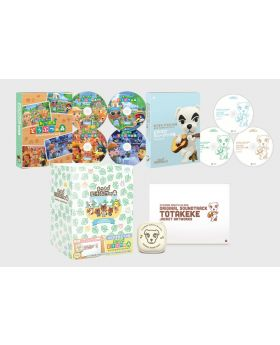 Animal Crossing New Horizons Original Soundtrack First Press Limited Edition