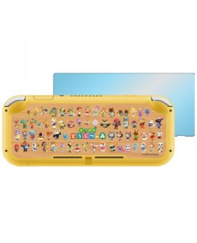 Animal Crossing New Horizons Nintendo Switch Lite Protect Plate and Sticker Sheet All Characters