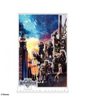 Kingdom Hearts Square Enix Limited Edition Cover Art Large Acrylic Stand
