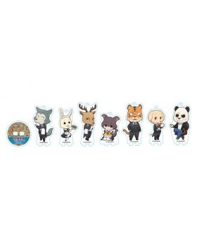 BEASTARS Animate Cafe Cherryton Butlers Goods Chibi Acrylic Stands BLIND PACKS