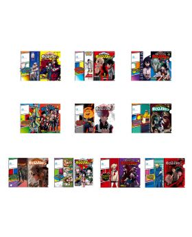 Boku No Hero Academia DRAWING SMASH Exhibition Manga Cover Clear File Collection BLIND PACKS
