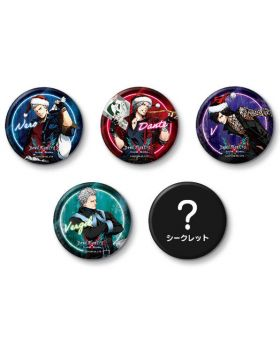 Devil May Cry 5 x Capcom Store Xmas Can Badges BLIND PACKS