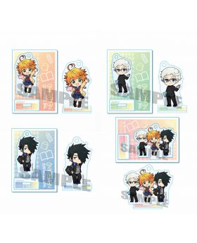 The Promised Neverland Animate Exclusive Event Acrylic Keychain Stand School Uniform