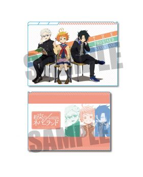 The Promised Neverland Animate Exclusive Event Clear File School Uniform Type A