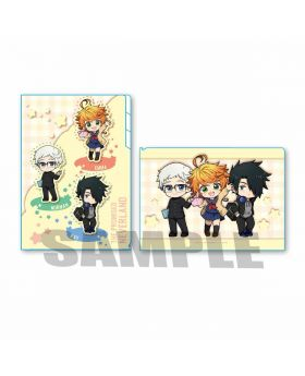 The Promised Neverland Animate Exclusive Event Clear File School Uniform Type B