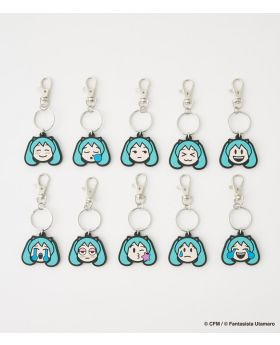 Hatsune Miku x R4G Collaboration Mikumoji Rubber Straps BLIND PACKS