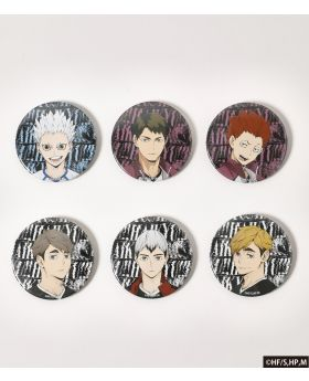 Haikyuu!! x R4G Collaboration Can Badge Collection BLIND PACKS