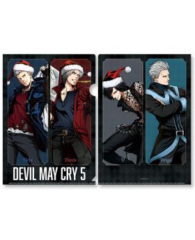 Devil May Cry 5 x Capcom Store Xmas Clear File B