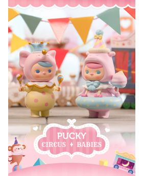 POPMART PUCKY CIRCUS BABIES Figurines BLIND PACKS