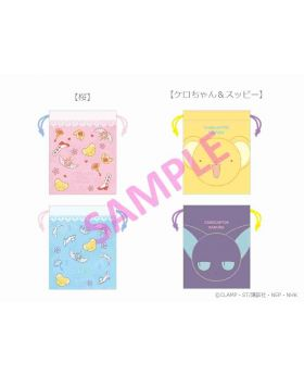 Cardcaptor Sakura Ready For Lady Marui Department Store Collaboration Reversible Pouch
