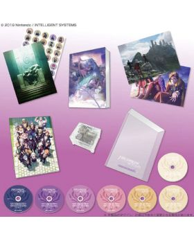Fire Emblem Three Houses Original Soundtrack Set First Press Edition