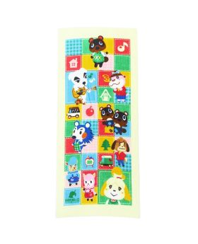 Animal Crossing Marushin Nintendo Official Product Long Face Towel