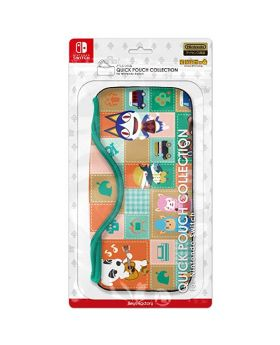 Animal Crossing Nintendo Switch Quick Pouch Collection A
