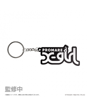 PROMARE XFlag Store Goods X-Girl Rubber Keychain