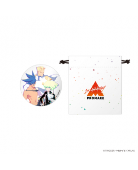 PROMARE 1st Anniversary XFlag Limited Edition Drawstring Pouch