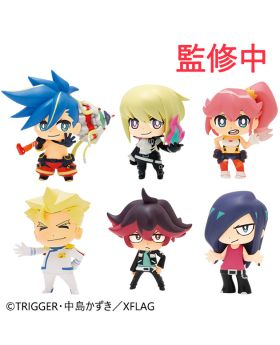 PROMARE XFlag Store Exclusive Goods Puchitto Mini Figurine SET