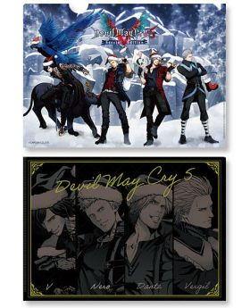 Devil May Cry 5 x Capcom Store Xmas Clear File A
