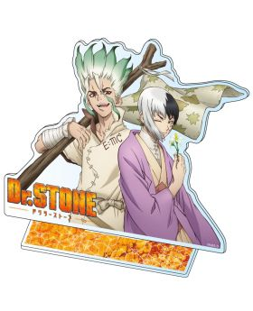 Dr. STONE MS Factory Large Acrylic Stand Senku and Gen