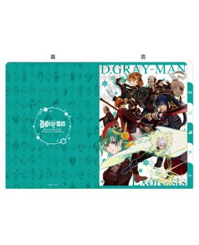 D.Gray Man Exhibition 5 Pocket A5 Clear File