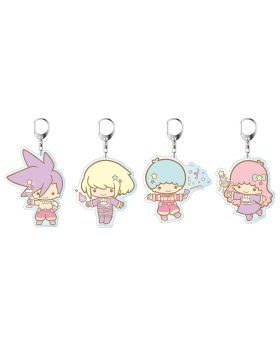 PROMARE x The Chara Shop Sanrio Little Twin Stars Goods Acrylic Keychains