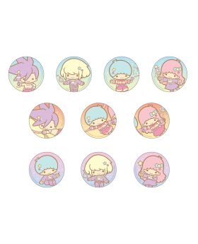 PROMARE x The Chara Shop Sanrio Little Twin Stars Goods Can Badges BLIND PACKS