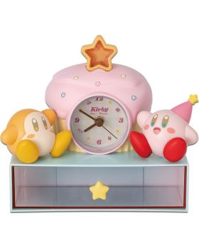 Ichiban Kuji Kirby A Sweet Moment INDIVIDUALS Cupcake Clock and Container
