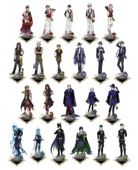 Twisted Wonderland Aniplex+ Goods Acrylic Stand Uniforms SECOND RESERVATION