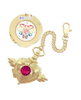Ichiban Kuji Sailor Moon the Movie Eternal Let's Party Crisis Moon Compact Pocket Watch