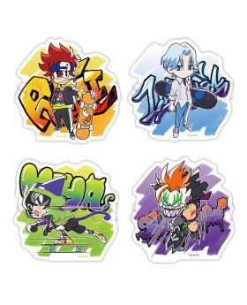 SK8 the Infinity Aniplex+ Goods Sticker Set A