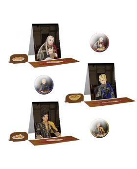 Fire Emblem EXPO II Three Houses Mess Hall Stand and Can Badge BLIND PACKS