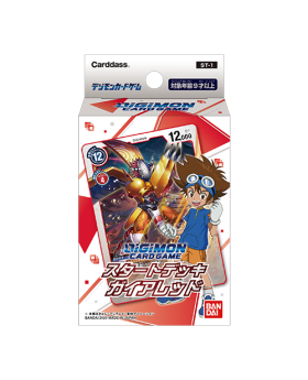 Digimon Adventure Limited Base Goods Part 4 Card Game Start Deck Gaia Red