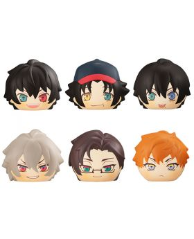 """Hypnosis Mic Division Rap Battle Megahouse """"Fukafuka Bread"""" Squeeze Toy Keychains Buster Bros!!! & MAD TRIGGER CREW SET"""