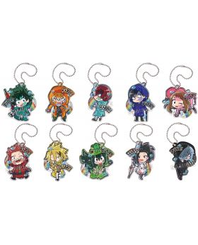 Boku No Hero Academia Pita Series Acrylic Charms Raincoat SET SECOND RESERVATION