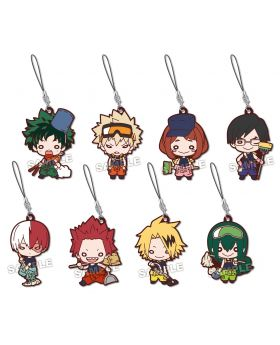 Boku No Hero Academia Nitotan Cleaning Art Rubber Straps BLIND PACKS SECOND RESERVATION