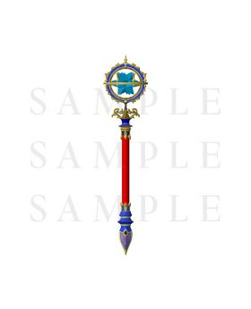 Fate/Grand Order Camelot Wandering; Agateram Movie Goods Ballpoint Pen Leonardo da Vinci