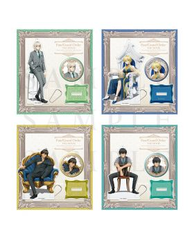 Fate/Grand Order Camelot Wandering; Agateram Movie Goods Acrylic Stand and Can Badge Set