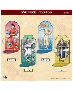 ONE PIECE Jump Festa 2021 Special Presale Goods Pen Acrylic Stand