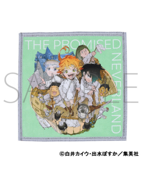The Promised Neverland Jump Festa 2021 Special Presale Goods Reversible Hand Towel