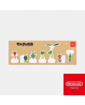 The Legend of Zelda Breath of the Wild Nintendo Koroks Collection Sticky Note Set