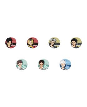 Haikyuu!! To The Top Playful Mind Company Goods Leather Badge Vol. 2 BLIND PACKS