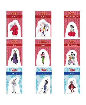 Inuyasha Anime Exhibition Goods Character Stand Postcard
