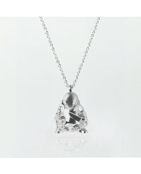 Final Fantasy Limited Goods Sterling Silver Necklace Tonberry