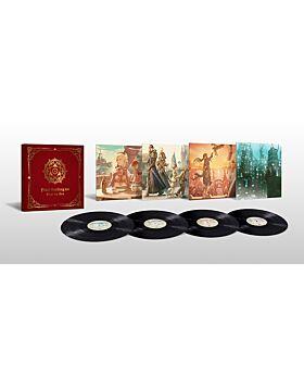 Final Fantasy XIV Square Enix Goods Vinyl LP Box