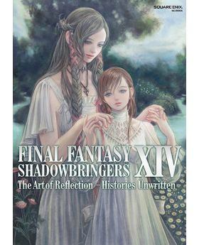 Final Fantasy XIV Shadowbringers Square Enix Goods The Art of Reflection Histories Unwritten Book
